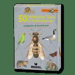 50 heimische Tiere in Stadt & Garten